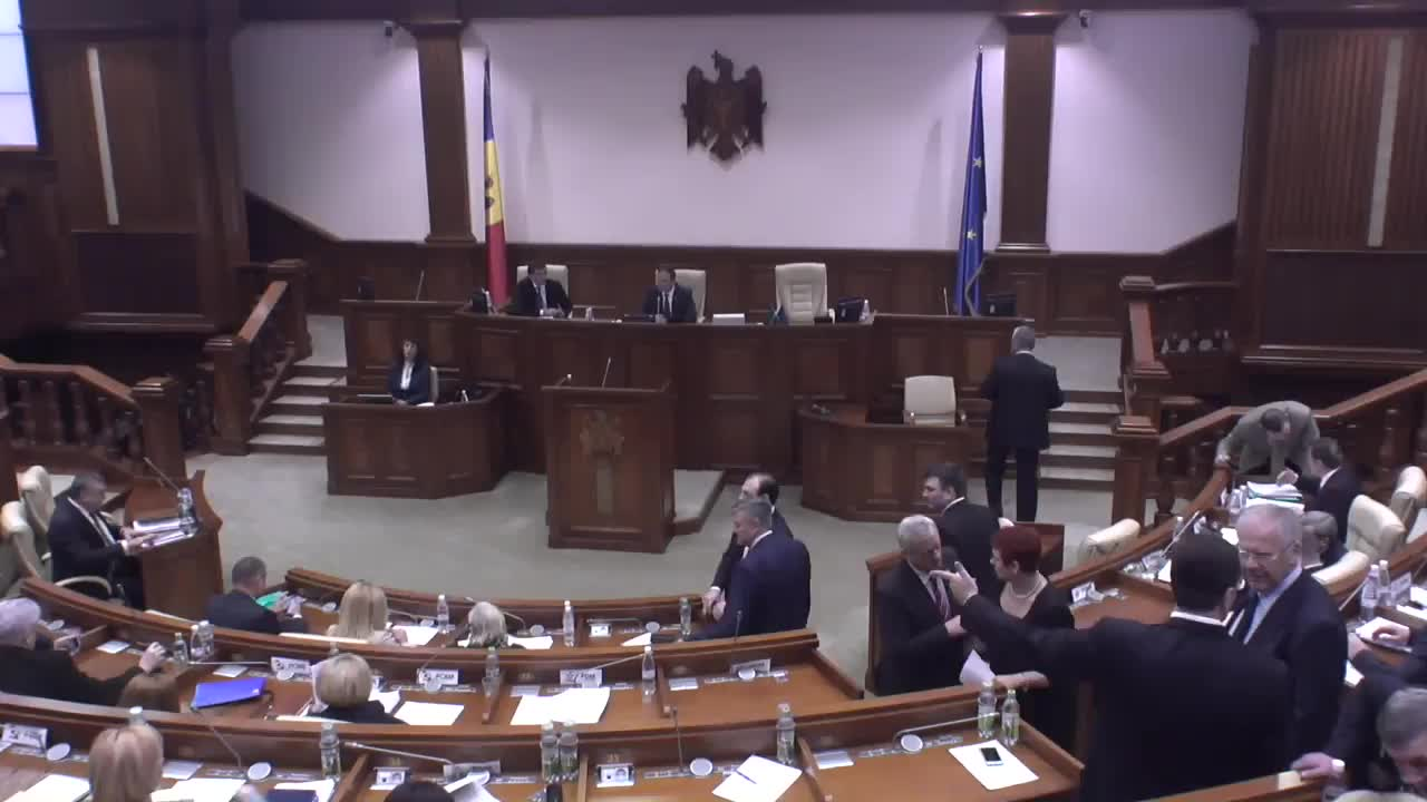 Ședința Parlamentului Republicii Moldova din 8 decembrie 2016