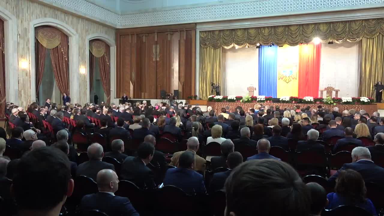 Ceremonia de învestitură a Președintelui Republicii Moldova, Igor Dodon