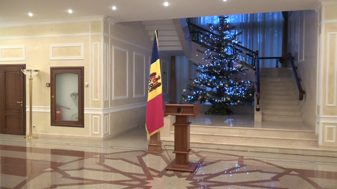 Briefing susținut de președintele Republicii Moldova, Igor Dodon, după întrevederea cu conducătorul Transnistriei, Vadim Krasnoseliskii