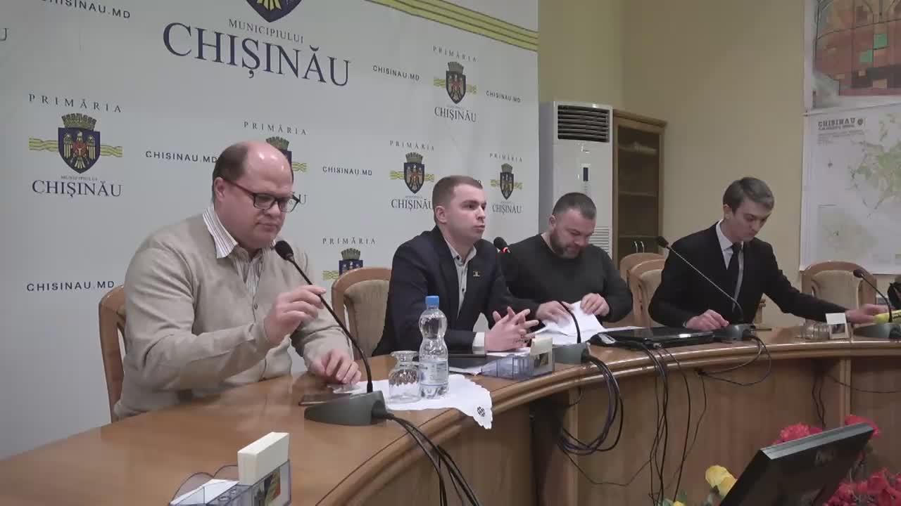 Briefing susținut de consilierii municipali din fracțiunea PSRM