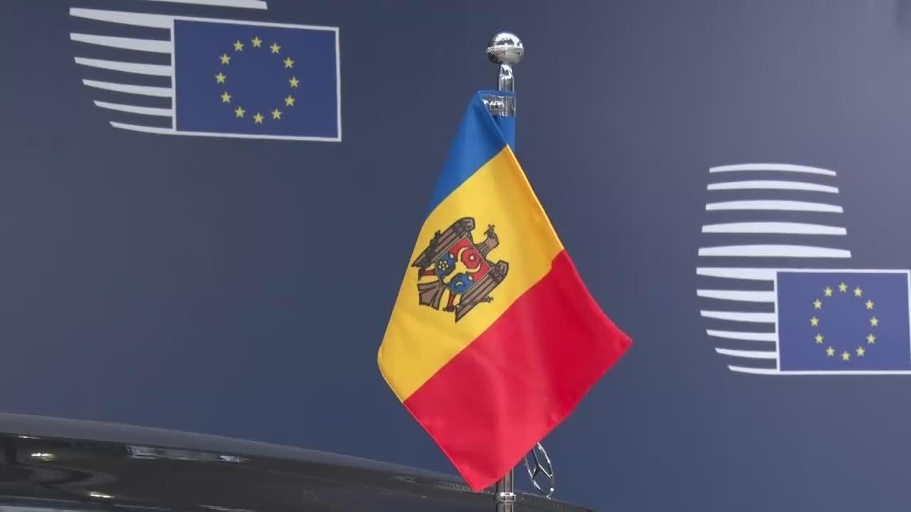 Sosirea președintelui Republicii Moldova, Igor Dodon, la întrevederea cu președintele Comisiei Europene, Jean-Claude Juncker