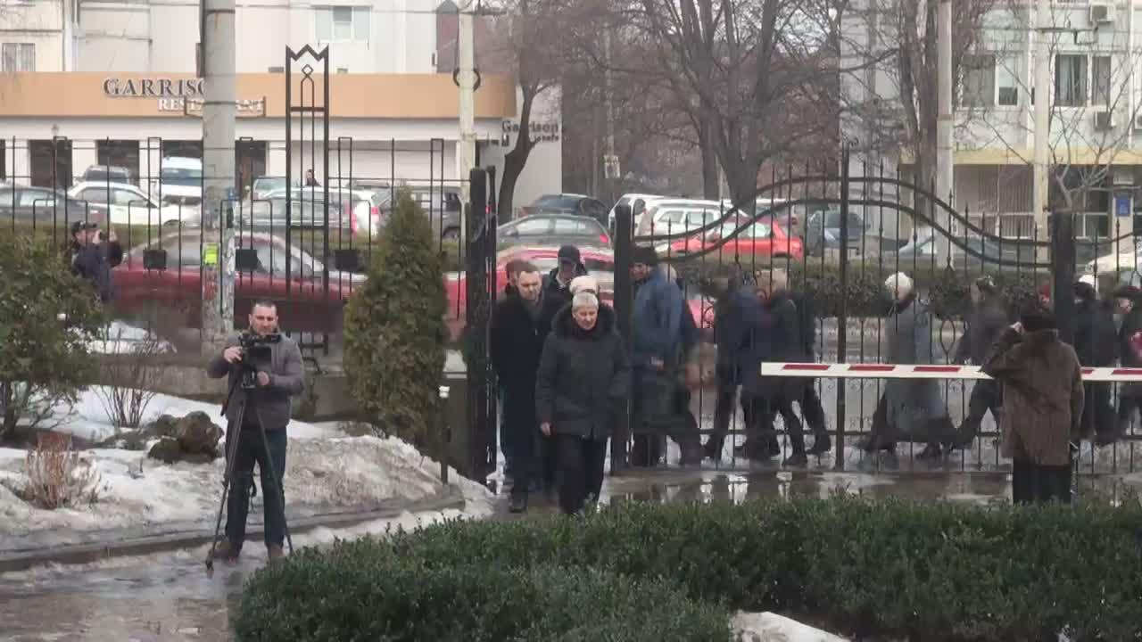 Acțiune de protest organizată de Partidul Socialiștilor din Republica Moldova împotriva creșterii costului serviciilor medicale