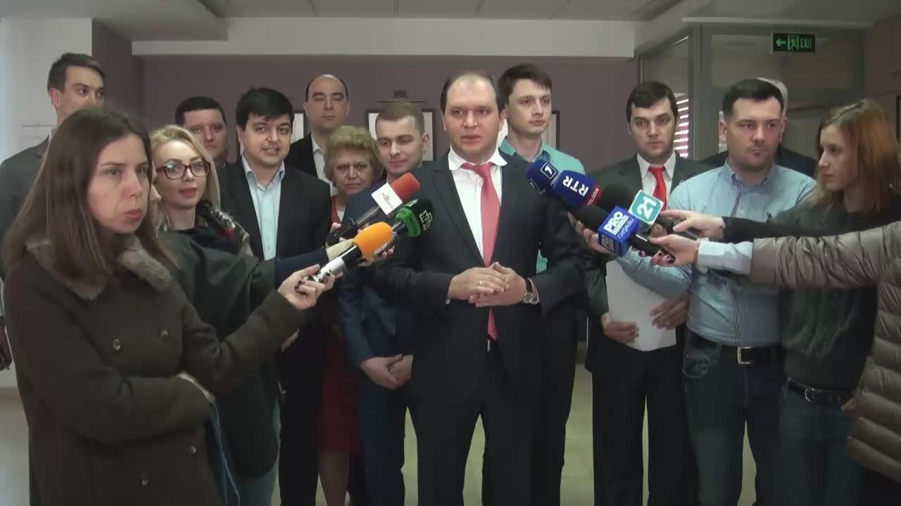 Declarație de presă susținută de consilierul municipal al PSRM, Ion Ceban
