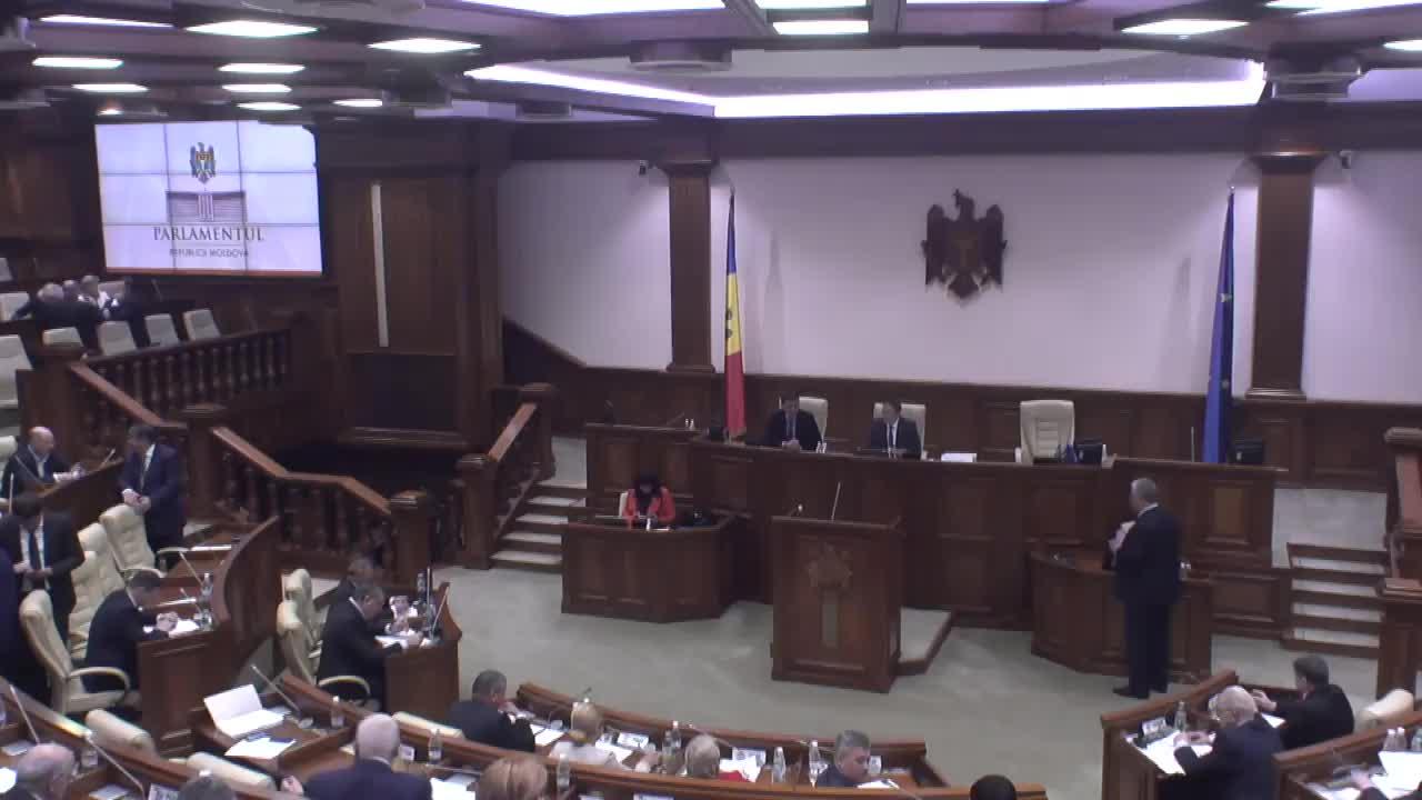 Ședința Parlamentului Republicii Moldova din 6 aprilie 2017