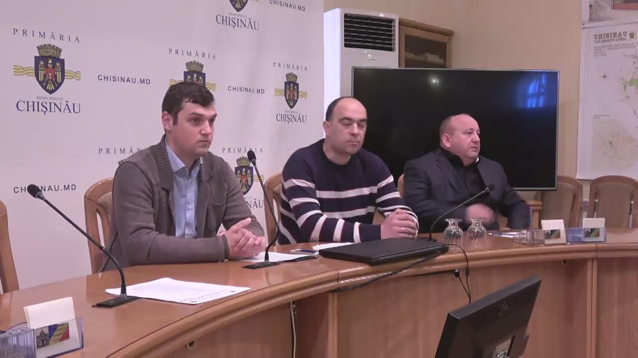 Briefing de presă organizat de consilierii municipali ai PSRM