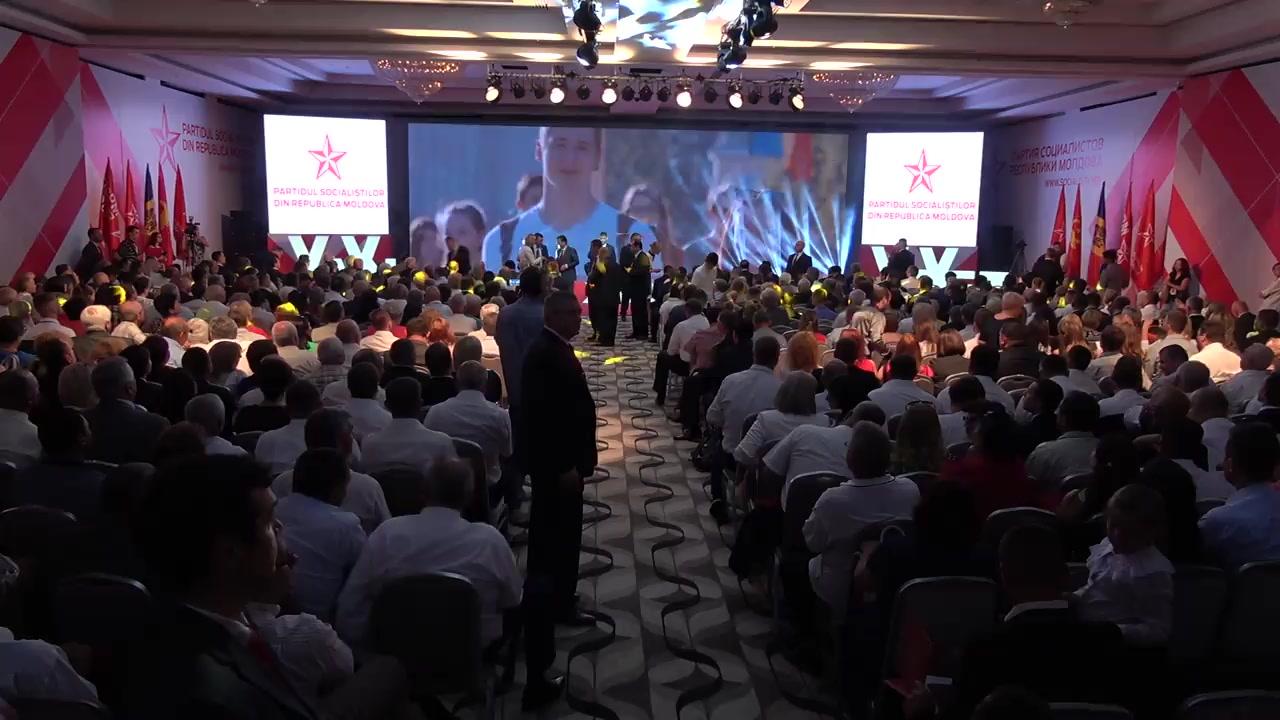 Reuniune solemnă consacrată aniversării a 20 de ani de la înființarea Partidului Socialiștilor din Republica Moldova