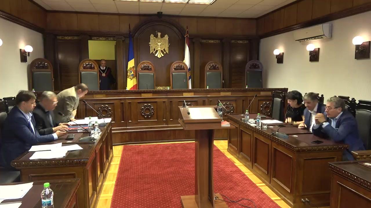 Hotărârea Curții Constituționale la sesizarea pentru controlul constituționalității a decretului Președintelui Republicii Moldova privind desfășurarea referendumului republican consultativ