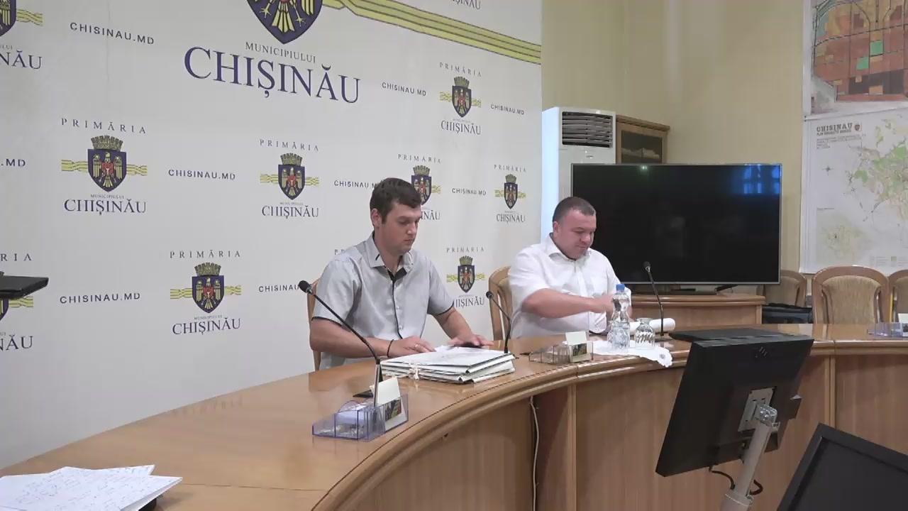 Briefing organizat de consilierii municipali ai Partidului Socialiștilor din Republica Moldova
