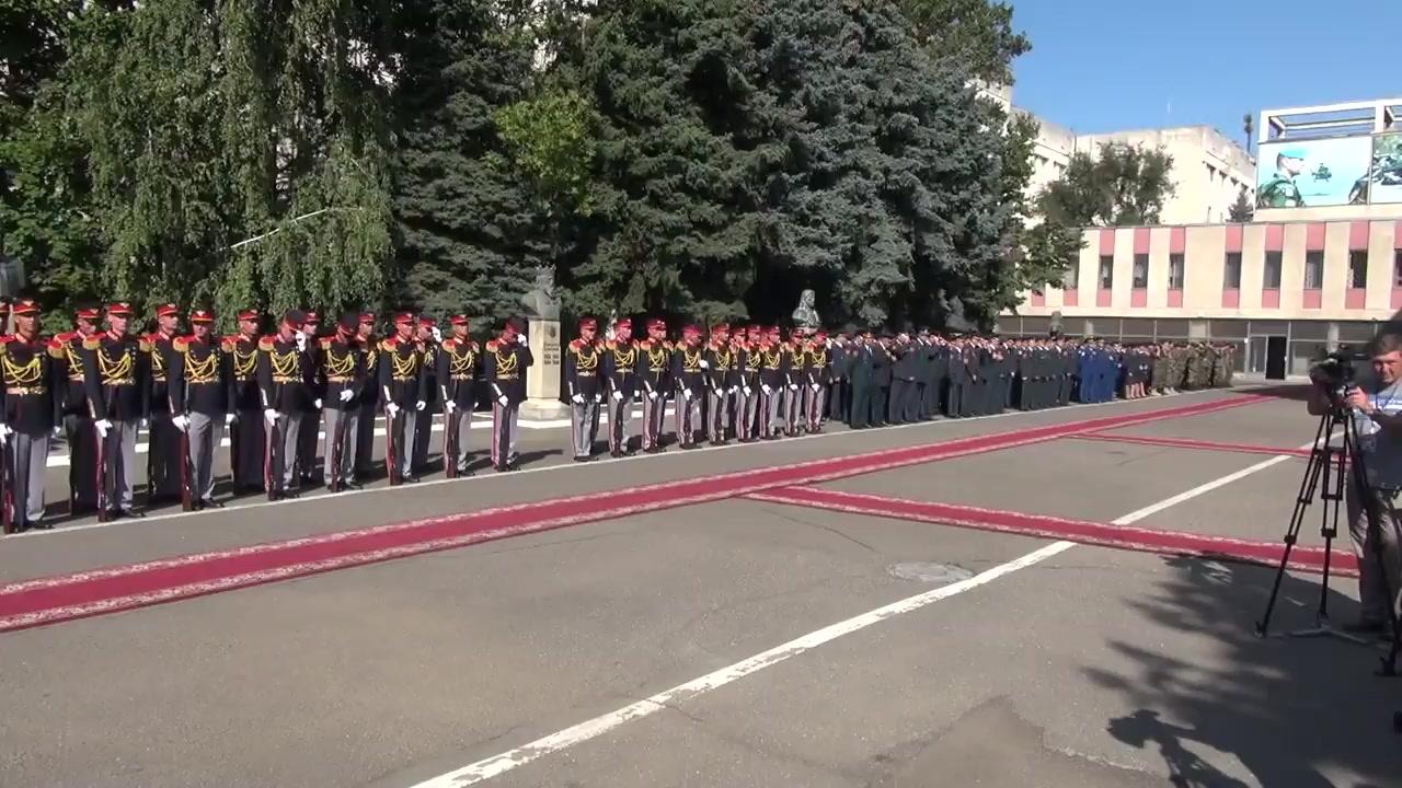 Ceremonia militar-protocolară dedicată aniversării a 26-a de la formarea Armatei Naționale