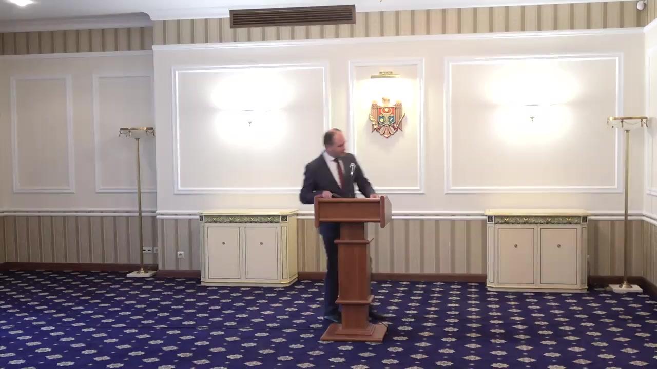 Briefing organizat la Reședința de Stat