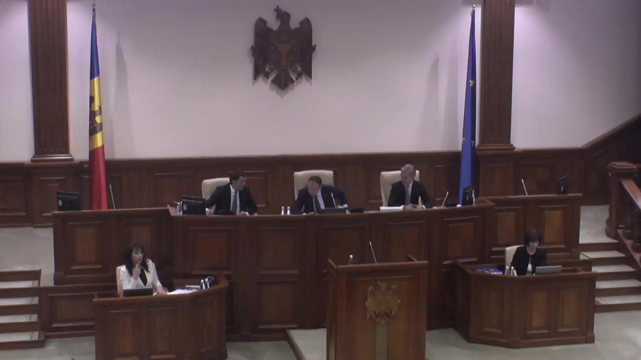 Ședința Parlamentului Republicii Moldova din 17 noiembrie 2017