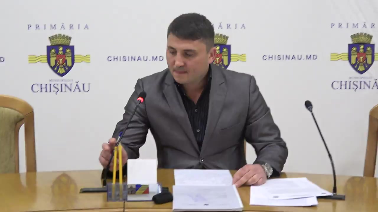 Referendum Local în mun. Chișinău 2017: Briefingul Consiliului electoral de circumscripție electorală municipală Chișinău nr.1 - situația până la ora 8.00