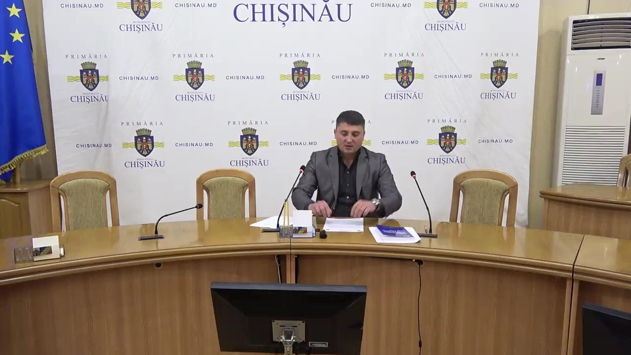 Referendum Local în mun. Chișinău 2017: Briefingul Consiliului electoral de circumscripție electorală municipală Chișinău nr.1 - situația până la ora 10.00