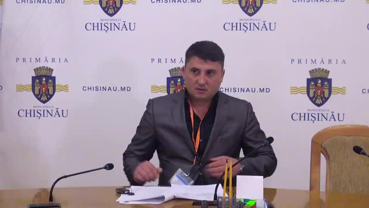 Referendum Local în mun. Chișinău 2017: Briefingul Consiliului electoral de circumscripție electorală municipală Chișinău nr.1 - situația până la ora 13.00
