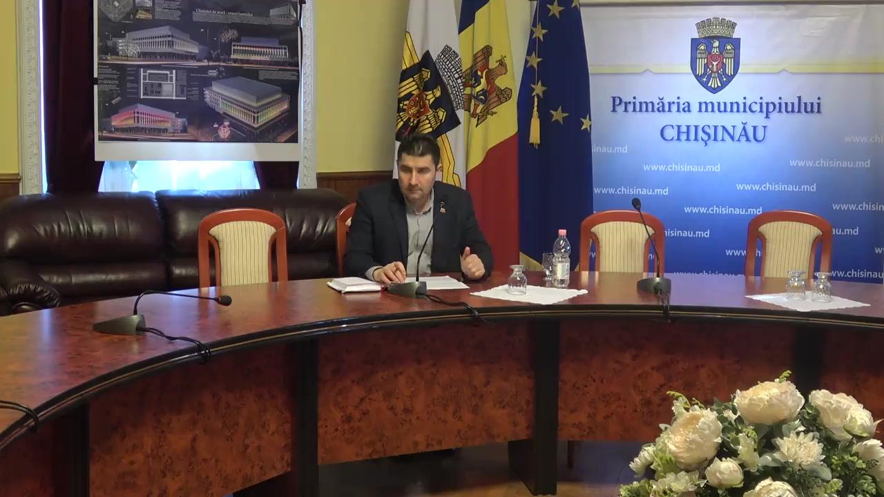 """Briefing organizat de consilierii municipali ai PSRM cu tema """"Despre campaniile de discreditare a sistemului medical și necesitatățile de intervenție"""""""
