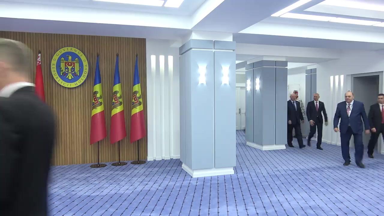 Ședința în format lărgit a delegațiilor Republicii Moldova și Republicii Belarus
