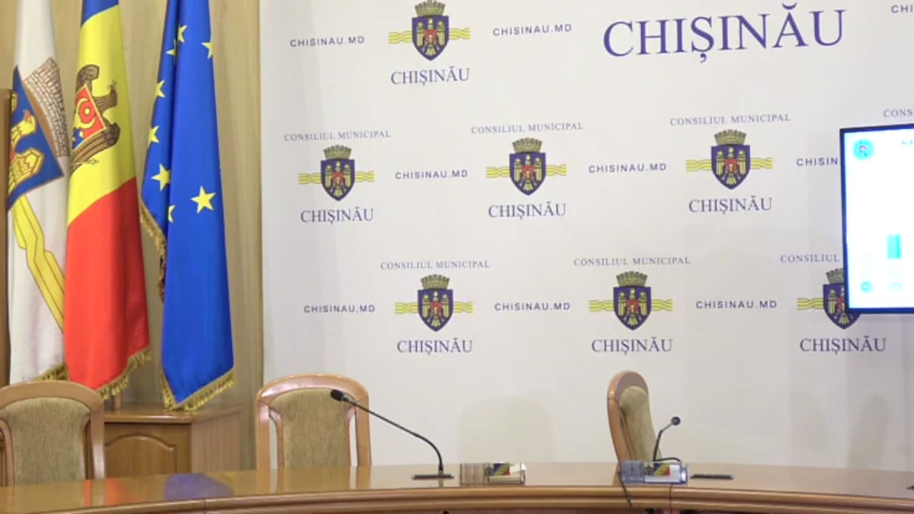 Alegeri Chișinău 2018: Briefingul Consiliului electoral de circumscripție electorală municipală Chișinău nr.1 - prezentarea primelor rezultate preliminare