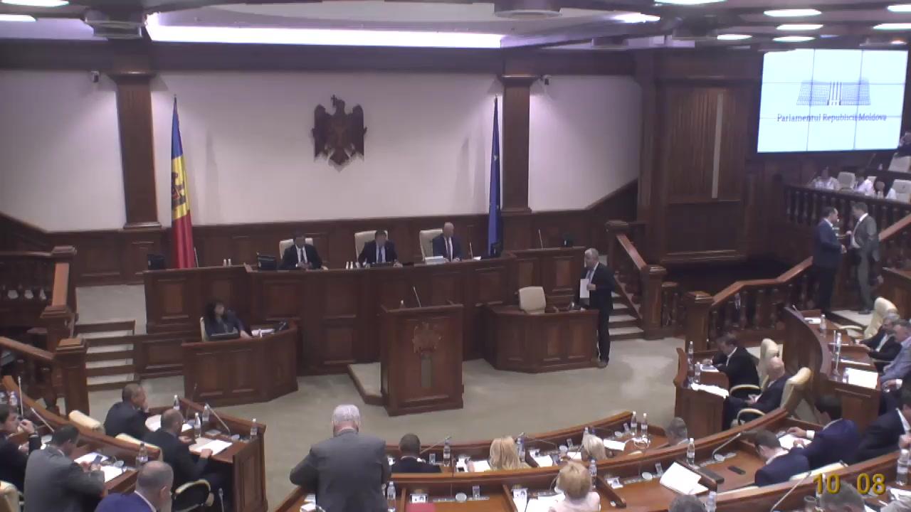 Ședința Parlamentului Republicii Moldova din 13 iulie 2018