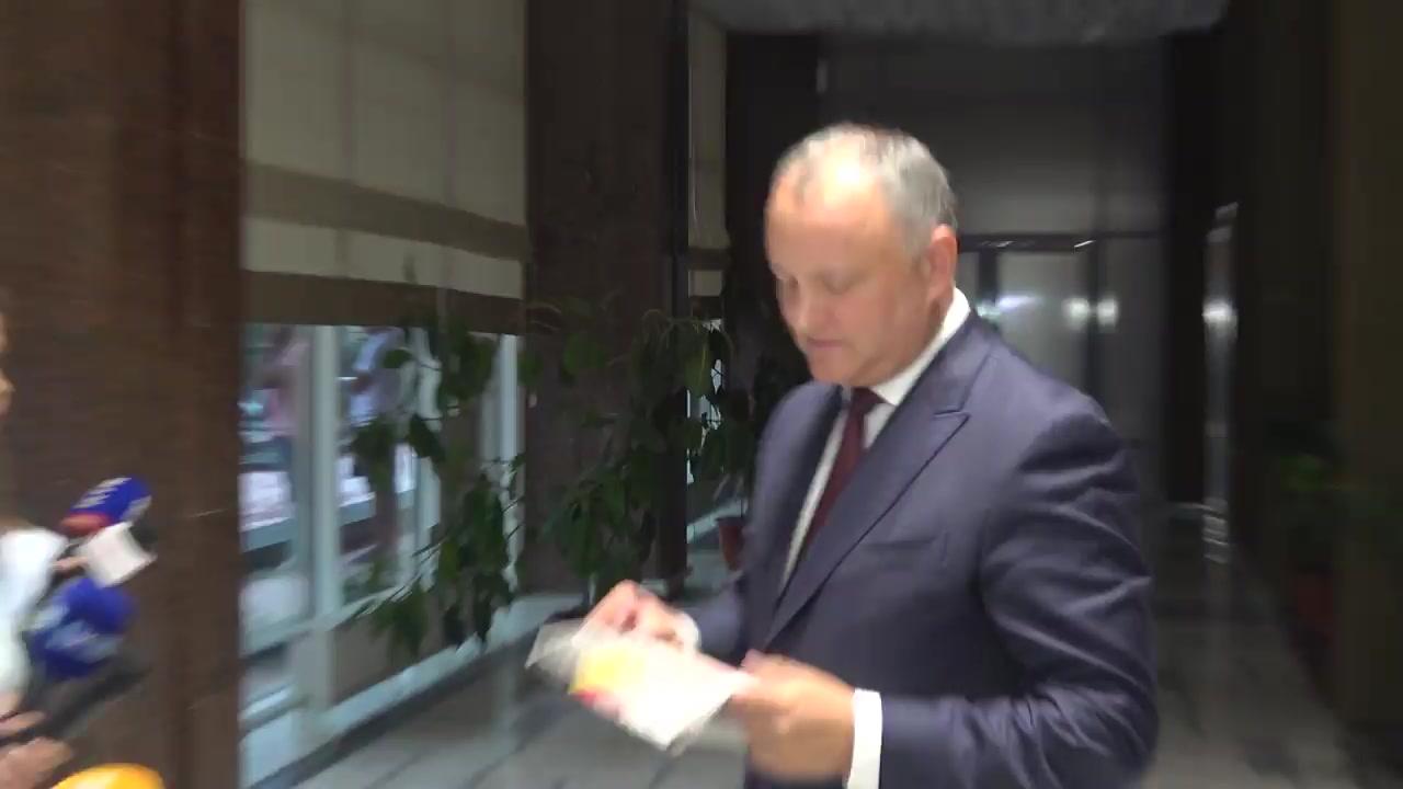 Declarații după Consiliul Republican al Partidului Socialiștilor din Republica Moldova