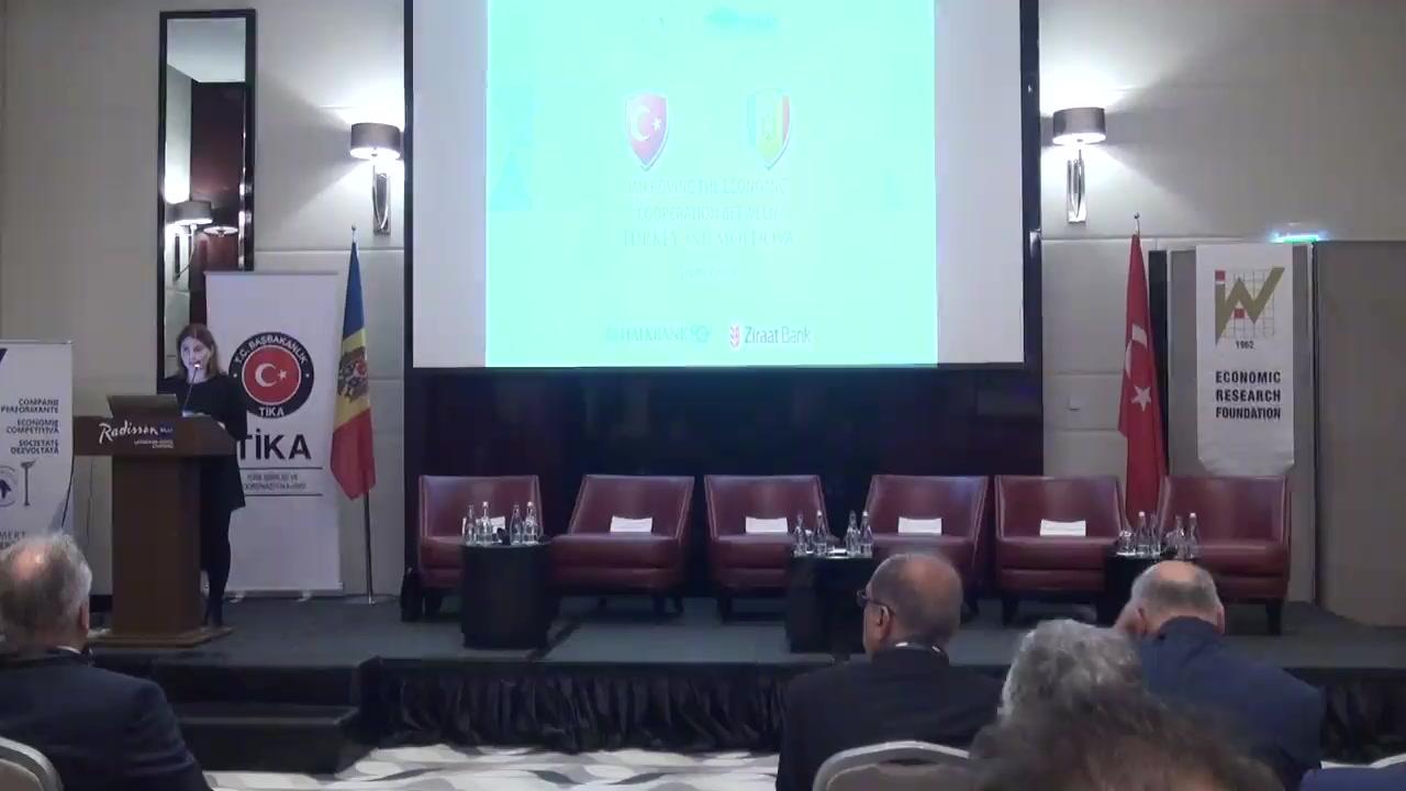 """Simpozionul """"Noi orizonturi în ameliorarea cooperării economice între Turcia și Moldova"""""""