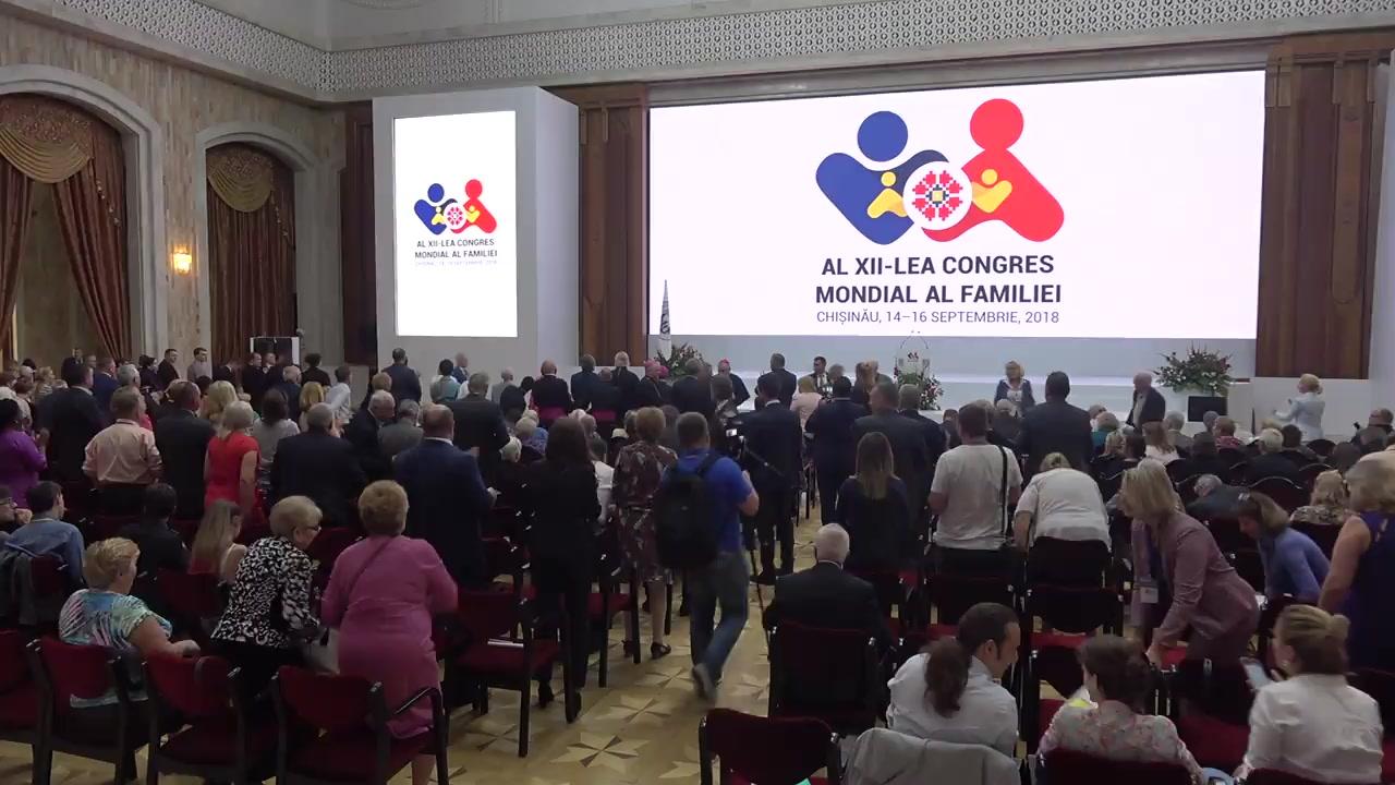 Închiderea Congresului Mondial al Familiei