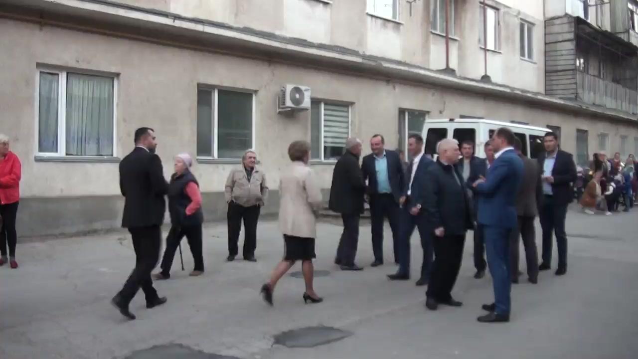 Prezentarea candidatului din partea Partidului Socialiștilor din Republica Moldova pentru circumscripția electorală nr. 33