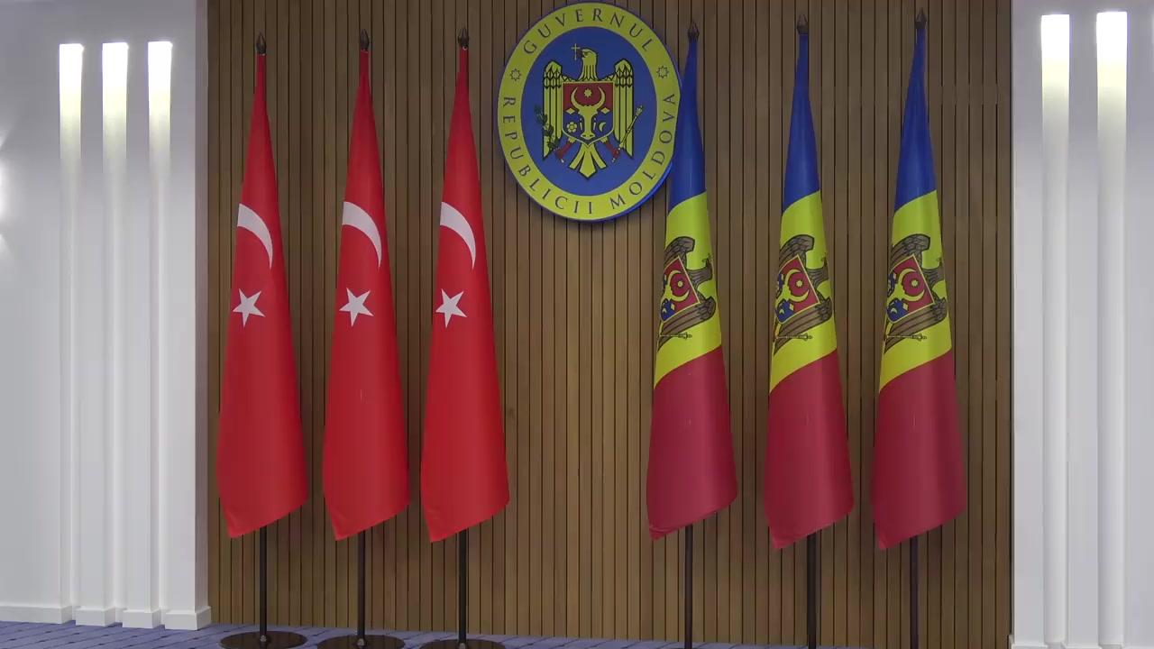Semnarea documentelor bilaterale dintre Republica Moldova și Republica Turcia