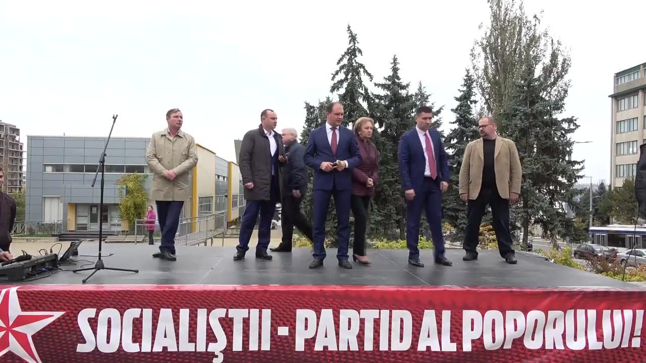 Prezentarea candidatului din partea Partidului Socialiștilor din Republica Moldova pentru circumscripția electorală nr. 26