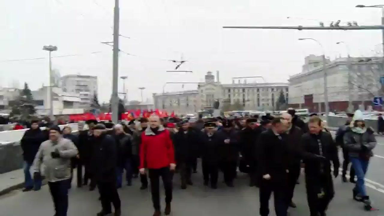 Marșul și Mitingul Național organizat de Partidul Socialiștilor din Republica Moldova
