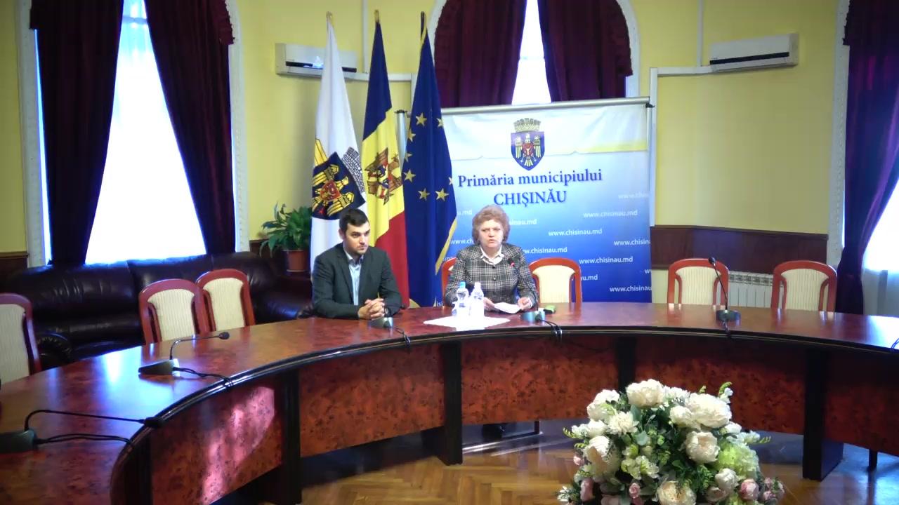 Conferință de presă susținută de consilierii PSRM din Consiliul Municipal Chișinău după ședința săptămânală a serviciilor primăriei Chișinău din 3 decembrie 2018