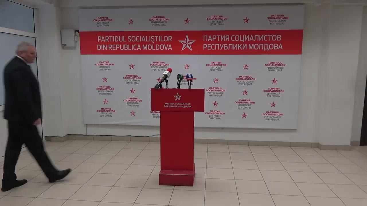 """Conferința de presă susținută de Partidul Socialiștilor din Republica Moldova cu tema """"Ce propune PSRM pentru diasporă?"""""""