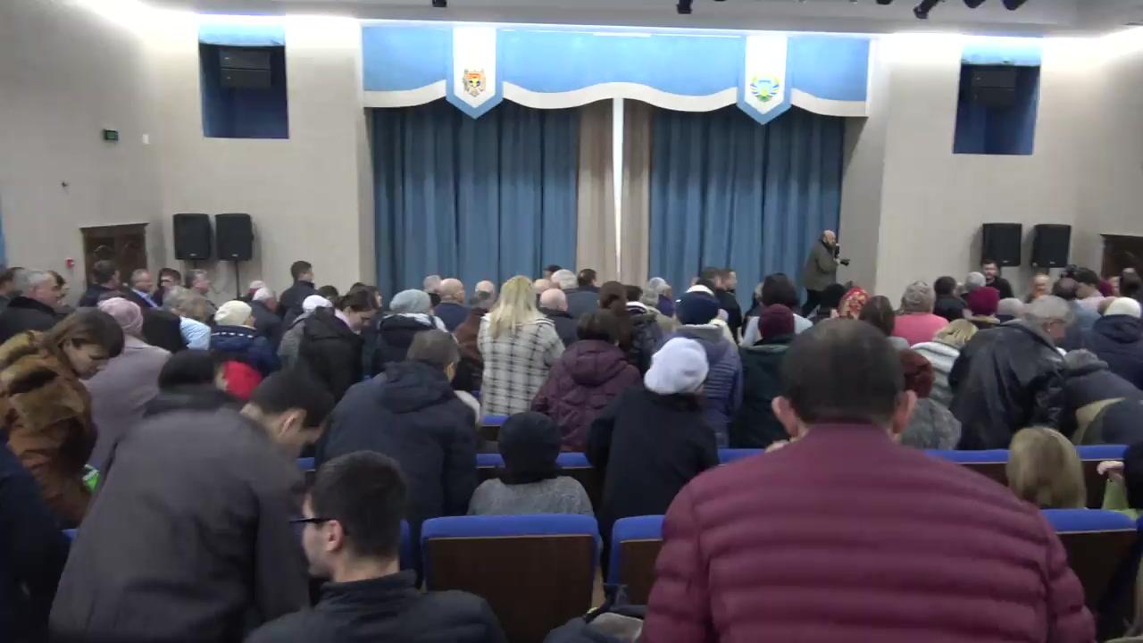 Întâlnirea Președintelui Republicii Moldova, Igor Dodon, cu locuitorii orașului Comrat