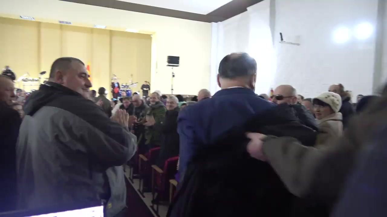 Întâlnirea Președintelui Republicii Moldova, Igor Dodon, cu locuitorii orașului Briceni