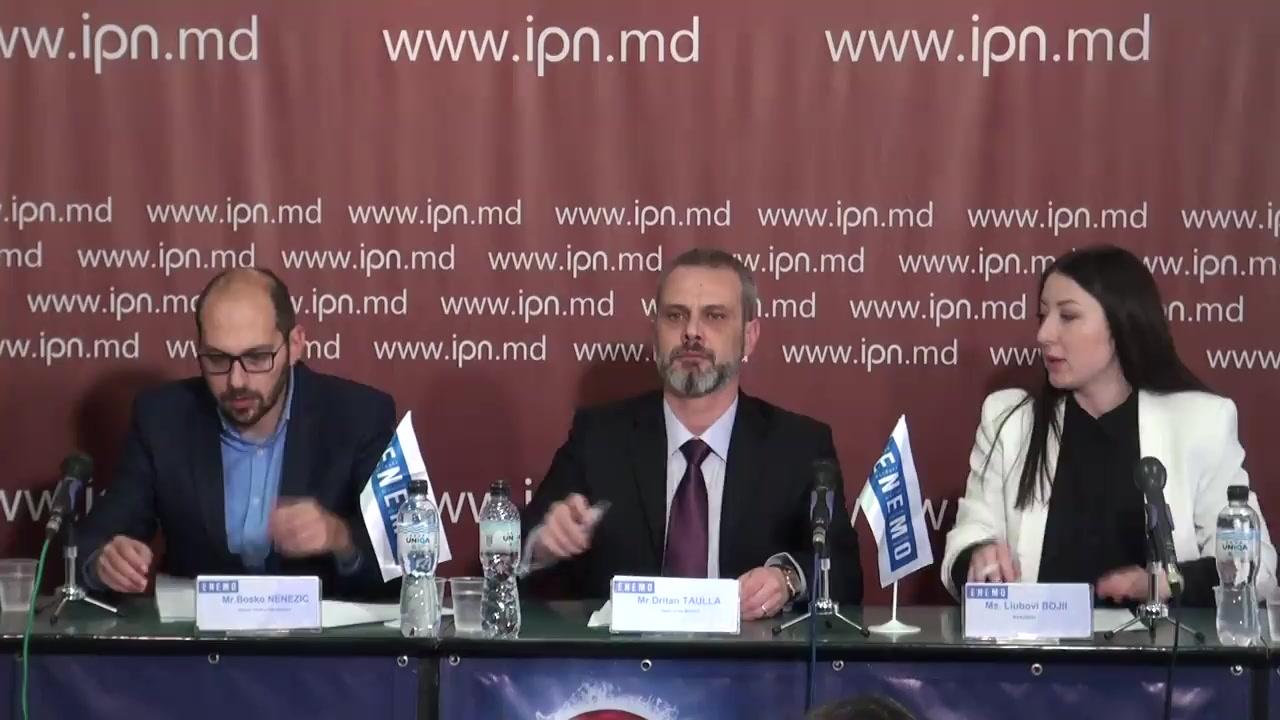 """Conferința de presă cu tema """"Prezentarea constatărilor și concluziilor preliminare ale ENEMO Misiunea Internațională de Observare a Alegerilor din Moldova referitor la alegerile parlamentare din 24 februarie 2019"""""""