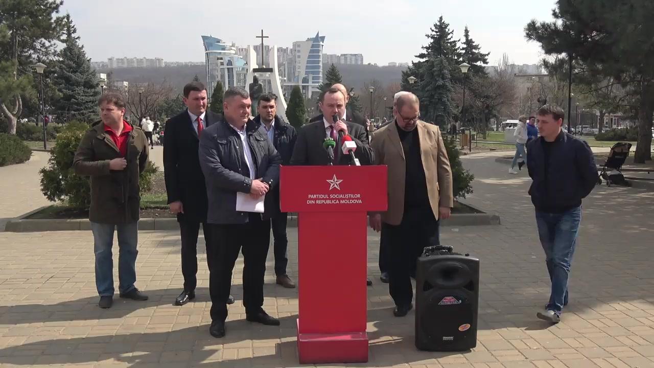Prezentarea raportului privind programele municipale ale PSRM în sectorul Rîșcani al municipiului Chișinău