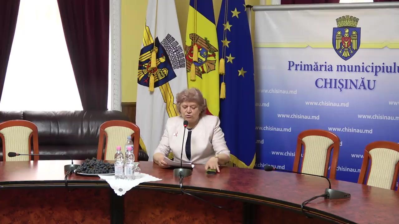 Briefing susținut de consilierii municipali ai PSRM după ședința săptămânală a serviciilor primăriei Chișinău din 25 martie 2019