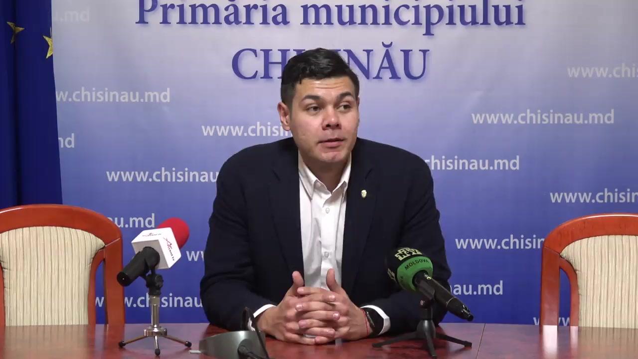 Conferința de presă susținută de consilierii municipali ai Partidului Socialiștilor din Republica Moldova