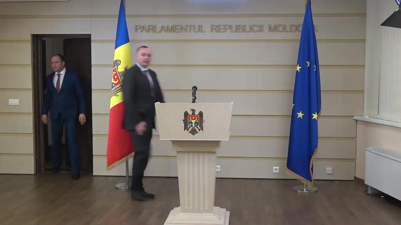 Declarații după dialogul între Partidul Socialiștilor din Republica Moldova și Blocul ACUM