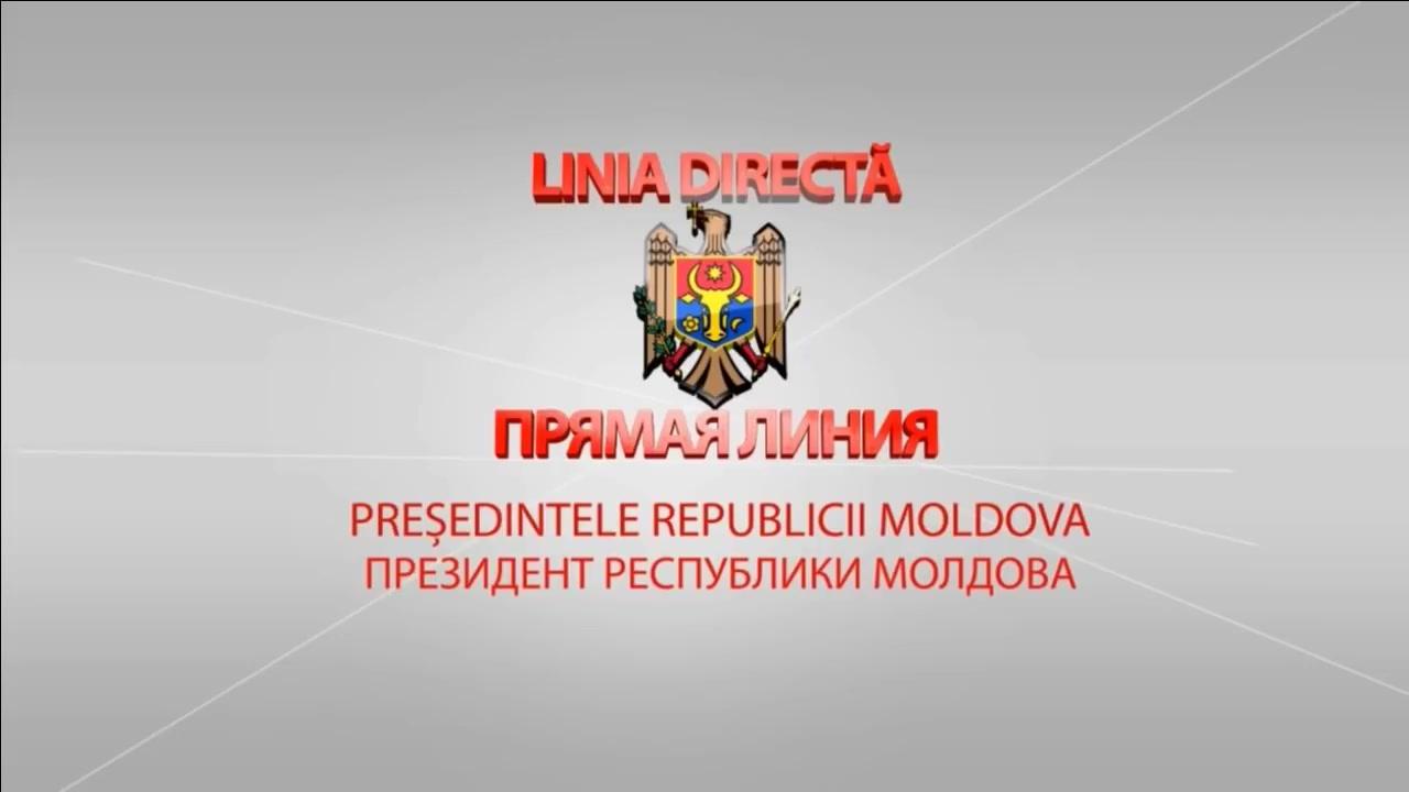 Linia directă cu Președintele Republicii Moldova, Igor Dodon