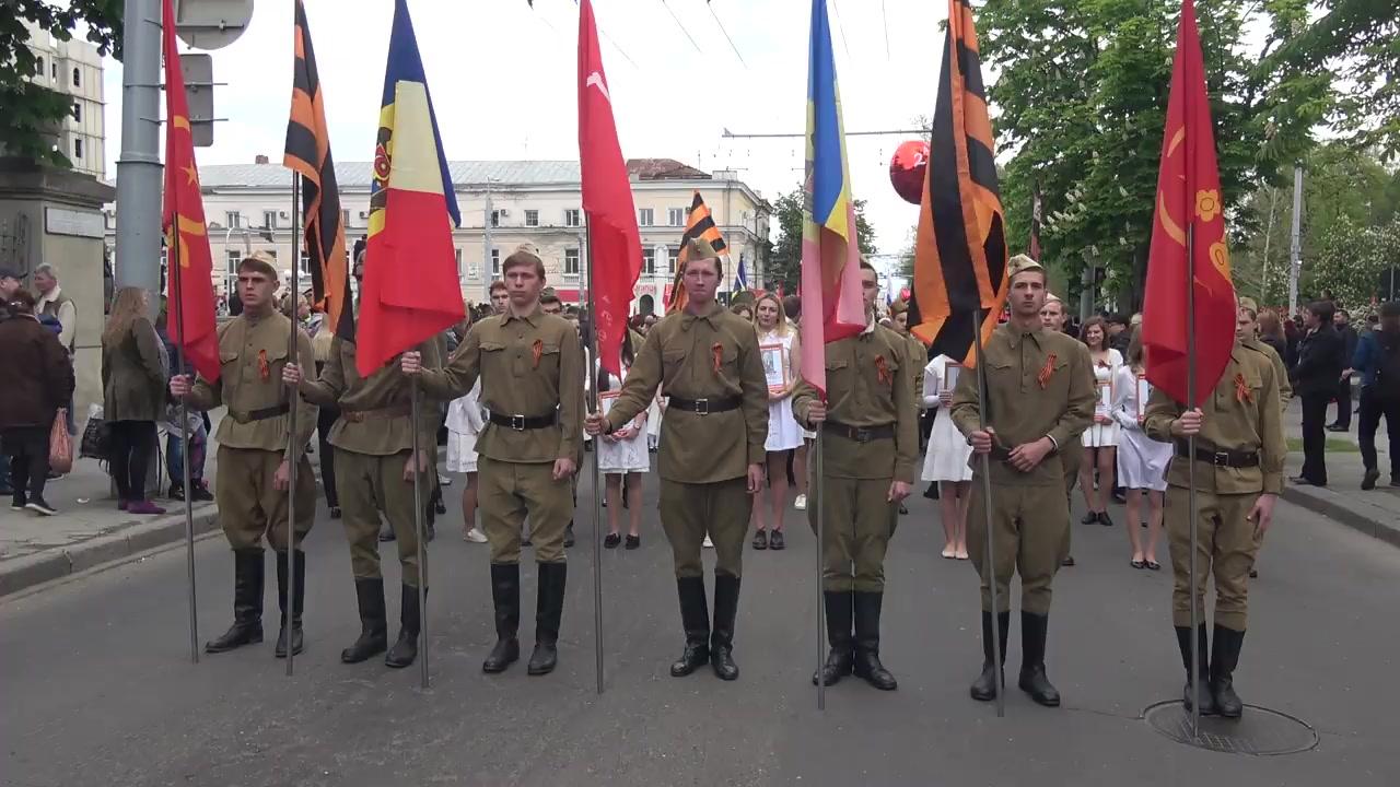 Marșul Memoriei organizat de Partidul Socialiștilor din Republica Moldova cu prilejul Zilei Victoriei