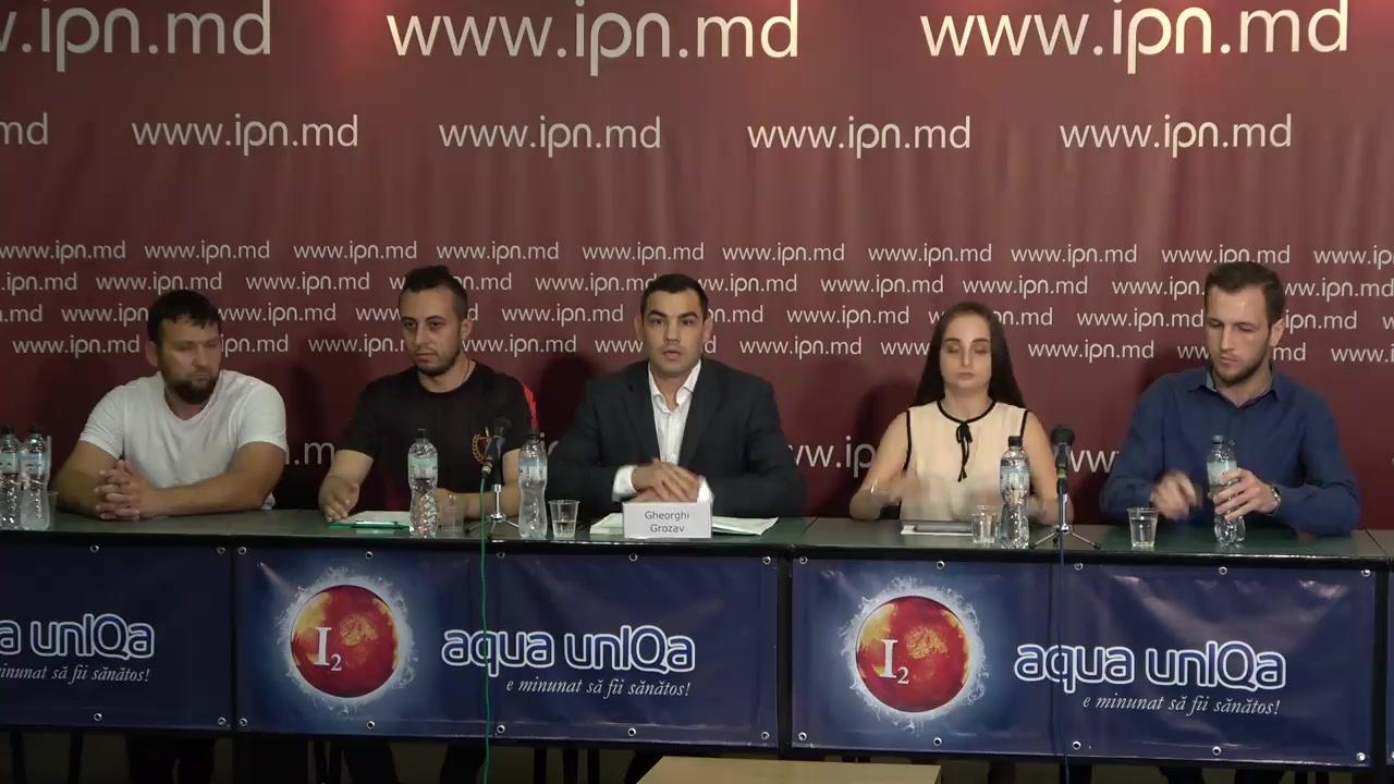 """Conferință de presă susținută de mai multe organizații neguvernamentale cu tema """"Poziția actuală cu privire la situația social-politică din Republica Moldova"""""""