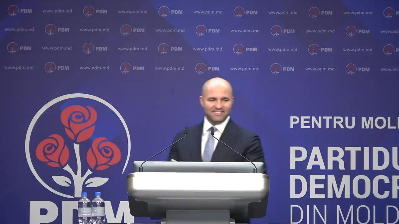 Briefing după ședinta Consiliului Politic Național al PDM din 14 iunie 2019