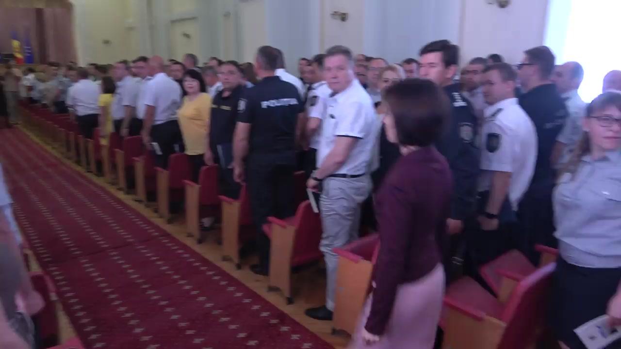 Prezentarea noului ministru al Afacerilor Interne, Andrei Năstase