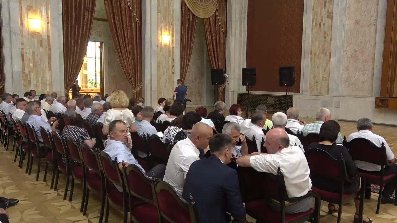 Întâlnirea Prim-ministrului Republicii Moldova, Maia Sandu, cu autoritățile publice locale