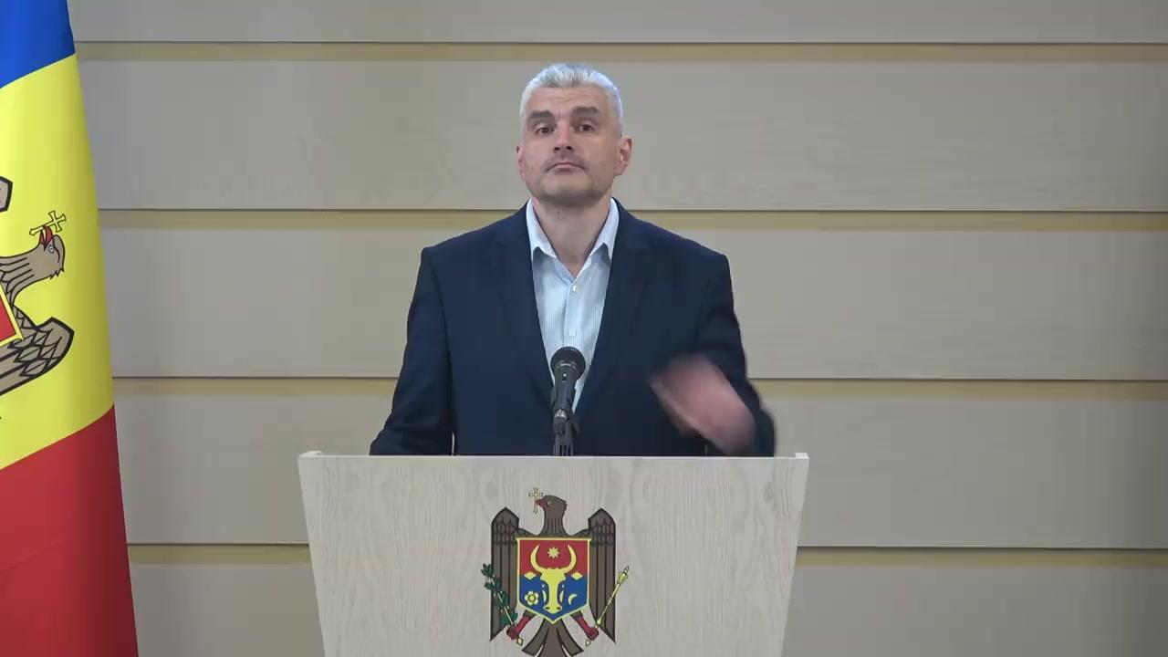 Briefing susținut de Vicepreședintele Parlamentului Republicii Moldova, Alexandru Slusari