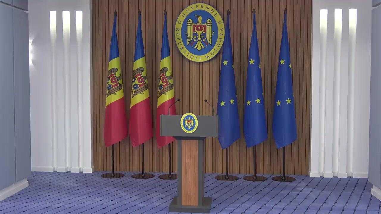 Briefing susținut de Prim-ministrul Republicii Moldova, Maia Sandu