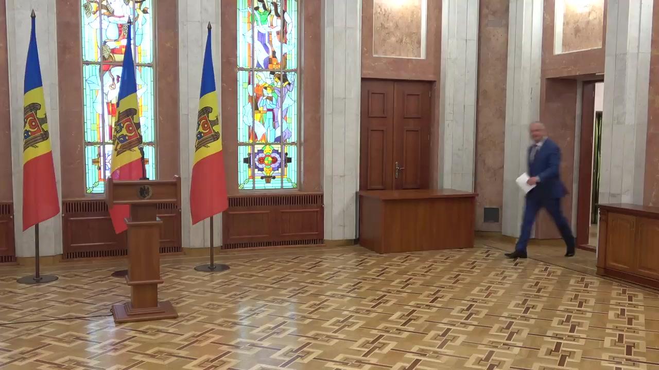 Conferință de presă susținută de Președintele Republicii Moldova, Igor Dodon, pe marginea rezultatelor vizitelor întreprinse în Federația Rusă și la Bruxelles
