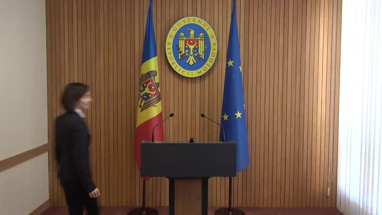 Declarațiile Prim-ministrului Republicii Moldova, Maia Sandu, după ședința Guvernului Republicii Moldova din 11 septembrie 2019