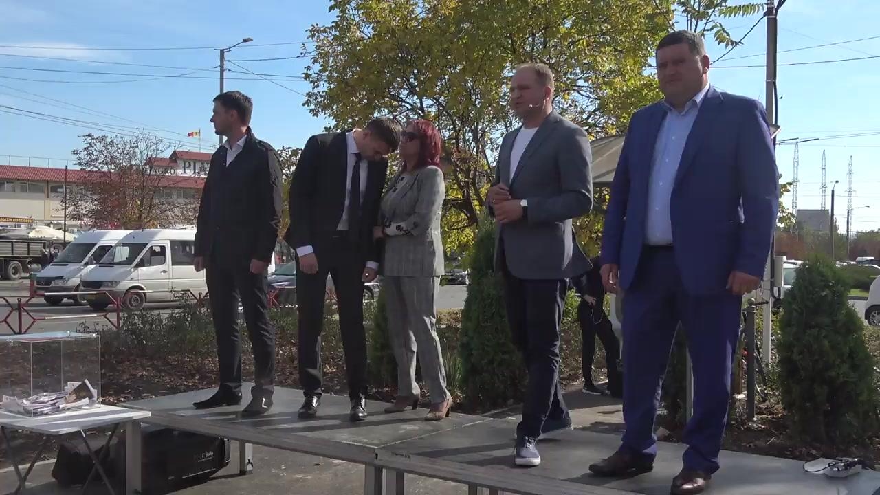 Întâlnirea locuitorilor sectorului Ciocana cu Ion Ceban, candidat pentru funcția de primar general al municipiului Chișinău
