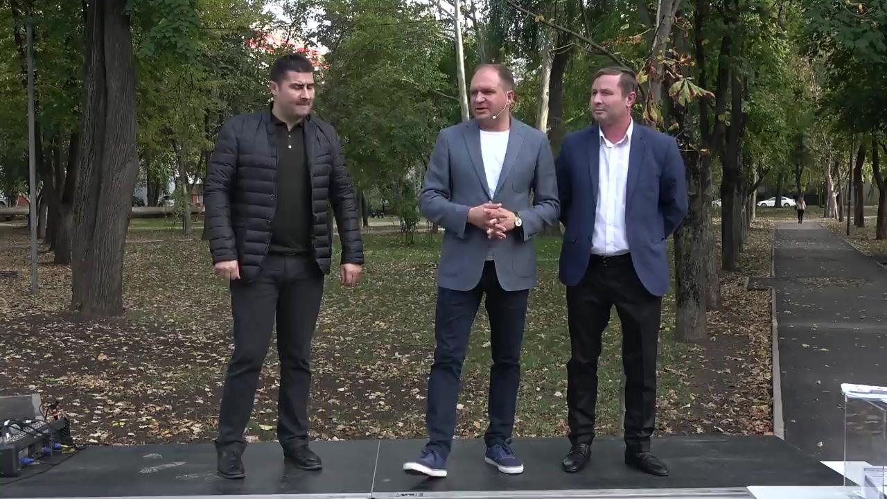 Întâlnirea locuitorilor sectorului Buiucani cu Ion Ceban, candidat pentru funcția de primar general al municipiului Chișinău